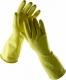 Rukavice CERVA STARLING latexové tenké bez podšívky žluté velikost S