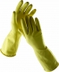 Rukavice CERVA STARLING latexové tenké bez podšívky žluté velikost L