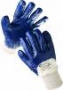 Rukavice CERVA HARRIER polomáčené v nitrilu pružná manžeta modré velikost 8