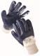 Rukavice CERVA KITTIWAKE bavlněný úplet nitrilem silně polomáčený pružná manžeta