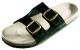 Obuv PUDU pantofle korková podešev černé