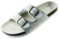 Obuv PUDU pantofle korková podrážka bílé velikost 39