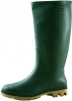Obuv holínka GINOCCHIO PVC zelená velikost 43