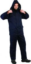 Bunda HYRAX  materiál polyester zateplená modrá velikost L
