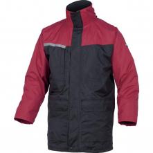 Bunda ALASKA s vyjímatelnou vložkou tmavě modrá/červená velikost XL