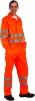 Montérková blůza KOROS výstražné pruhy oranžová velikost 56