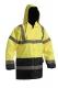Bunda SEFTON zateplená reflexní výstražná žlutá/modrá velikost XL