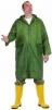Plášť CETUS polyester pokrytý silnou vrstvou PVC raglánové rukávy zelený velikost XL