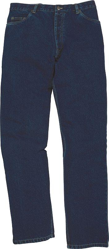 Pracovní kalhoty DALLAS do pasu dámské tmavě modré velikost 54