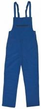 Montérkové kalhoty FRANTA s náprsenkou středně modré velikost 54