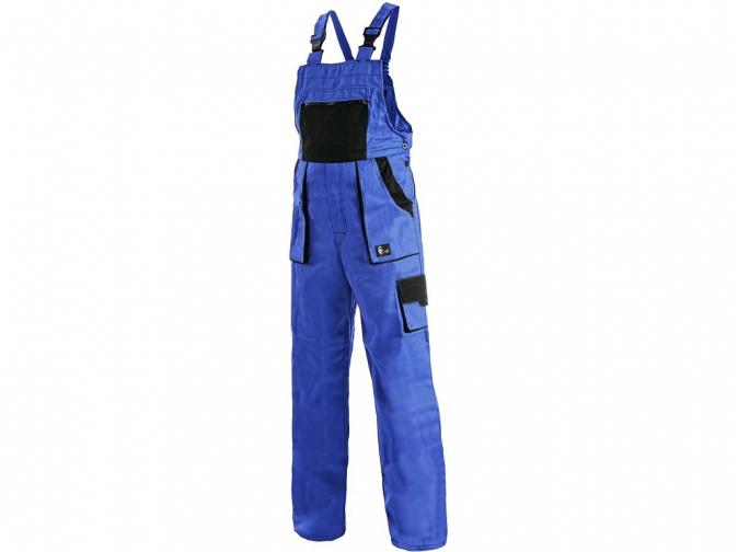 Montérkové kalhoty YVONA laclové dámské tmavě modré velikost 46