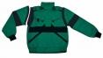 Montérková blůza CXS LUXY EDA s odepínacími rukávy zeleno/černá
