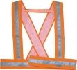 Popruhy BAUCE ramenní výstražné oranžové
