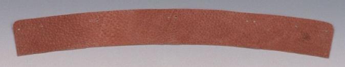 Potní pásek lícový kožený pro přilby PROTECTOR