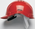 Přilba PROTECTOR STYLE 300 ELITE látkový kříž ventilovaná červená
