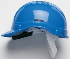 Ochranná přilba PROTECTOR STYLE 300 ELITE ventilovaná látkový kříž modrá