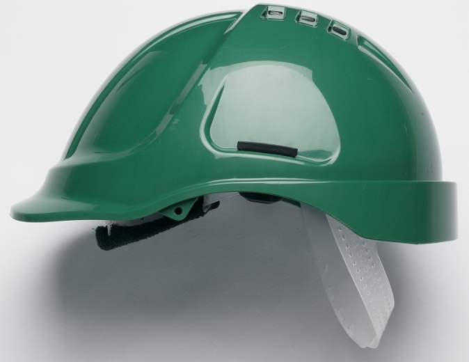 Přilba PROTECTOR STYLE 600 ABS ventilovaná zelená