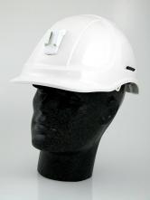 Přilba STYLE 600 ABS ventilovaná lampový držák modrá