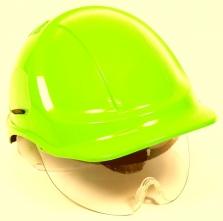 Přilba PROTECTOR STYLE 600 ABS ventilovaná štít HV žlutá