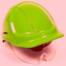 Přilba PROTECTOR STYLE 600 ABS ventilovaná oční štít žlutá