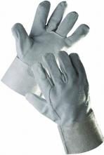 Rukavice CERVA SNIPE celokožené 7 cm manžeta šedé