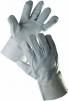 Rukavice SNIPE celokožené 7 cm manžeta šedé