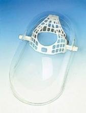Štít PLEXI včetně hlavového držáku vaničkový