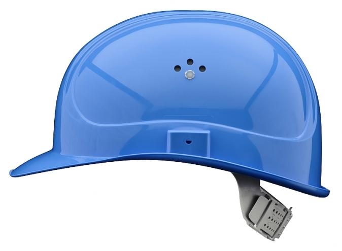 Přilba MASTER zkrácený štítek modrá