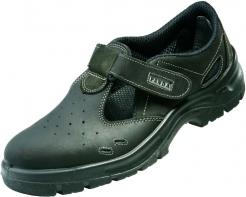 Obuv PANDA STRONG TOPOLINO sandál S1 kovová špice černá velikost 38