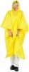 Pončo PVC velké pevná kapuce žluté