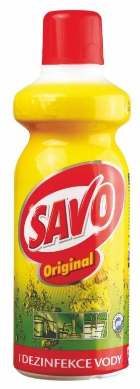 SAVO 1l dezinfekční čistící prostředek