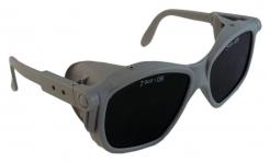 Brýle B-B 40 šedý rámeček svářečské zorníky stupeň 5