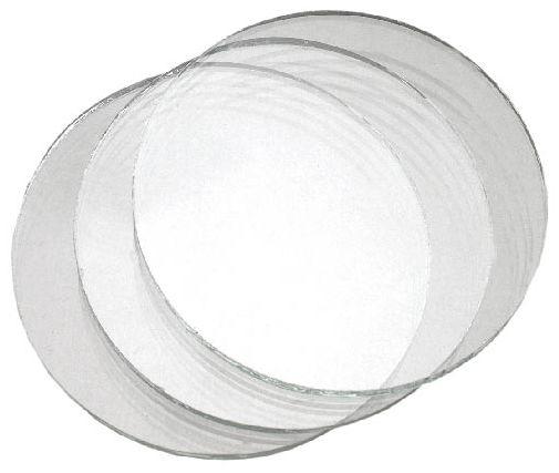 Sklo krycí kulaté průměr 50 mm čiré