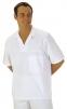 Košile pekařská krátký rukáv s rozhalenkou přes hlavu bílá velikost L