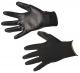 Rukavice A120 bezešvý nylonový úplet povrstvený polyuretanem černé velikost XL