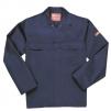 Ochranná pracovní blůza Bizweld svářečská tmavě modrá velikost XL