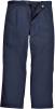 Kalhoty Bizweld do pasu ochranné svářečské tmavě modré prodloužené velikost XL