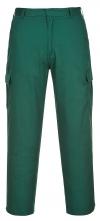 """Kalhoty COMBAT pánské do pasu s kapsami tmavě zelené velikost 32"""" - M"""