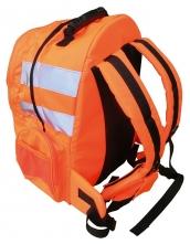 Batoh Hi-Vis Quick Release výstražné pruhy svítivě oranžový