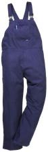 Montérkové kalhoty Engineer s náprsenkou tmavě modré velikost XL