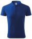 Polokošile Madrid krátký rukáv polyester/bavlna tmavě modrá velikost XL