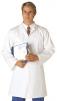 Plášť potravinářský vnitřní náprsní kapsa kryté zapínání bílý velikost XL