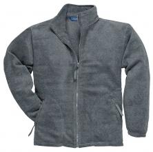 Mikina ARGYL HEAVY fleece zapínání na zip šedá velikost XL