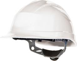 Ochranná průmyslová přilba QUARTZ 3 UP plastová náhlavní vložka račna bílá