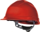 Ochranná průmyslová přilba QUARTZ 3 UP plastová náhlavní vložka račna červená