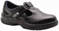 Obuv Steelite™ Sandál S1 větrací otvory pevná pata a špice černý velikost 42