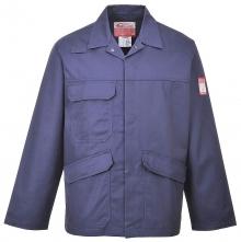 Ochranná pracovní blůza BIZFLAME PRO antistatická nehořlavá tmavě modrá velikost XL
