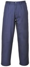 Kalhoty BIZFLAME PRO do pasu antistatické nehořlavé tmavě modré velikost XL