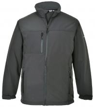 Softshellová bunda TECHNIK TK 50 šedá velikost L