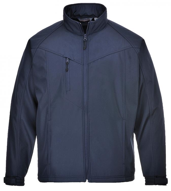 Softshellová bunda Oregon TECHNIK tmavě modrá velikost L